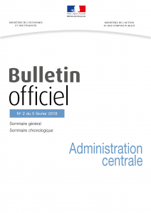 Bulletin officiel Administration centrale No 2 du 5 février 2018 pdg (003)